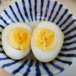 たんたラーメン - バクダン(味付け玉子)