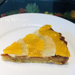 ノム コウベ - グレープフルーツとオレンジが爽やかなザックリタルト☆彡甘さ控えめで美味しいです!
