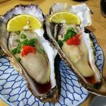 112099138 - 殻付き生牡蠣(¥980以下同)