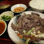 松鶴 - 朝鮮焼定食(牛)¥920