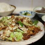 松鶴 - ホイコーロー定食 ¥700