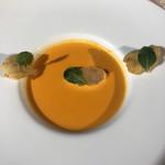 112102350 - 赤ピーマンのスープ