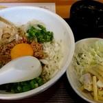 にんちゃんち - 料理写真:台湾まぜそばランチ800円