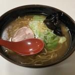 麺処 蓮海 - まぐろ豚骨醤油ラーメン880円