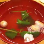 鮨芳 - お吸い物