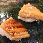 鮨處つの田 - 穴子 塩とツメで