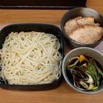 つけ麺 いろは - 料理写真:日替り定食(500円)