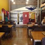 モンゴルレストラン郷 - 店内のゲル