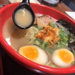 ラーメンたろう - 豚骨スープ