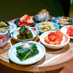 焼肉 きたん - ☆前菜 旬菜ナムル キムチ盛り合わせ