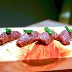 焼肉 きたん - ☆炙りにぎり寿司