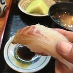 ひら田 - 活〆真鯛