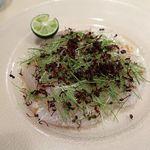 112128849 - 鮮魚のカルパッチョ