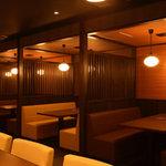 七福神 - カウンター席&半個室のお席もございます♪