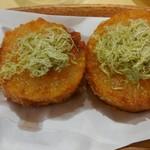 鶏焼酒場 わびすけ - おでん大根の天ぷら