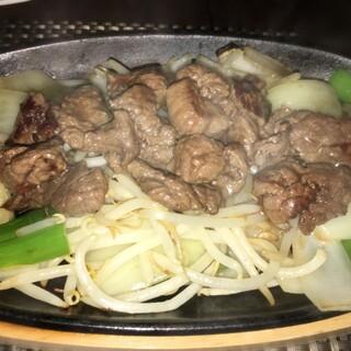 馬肉料理 和牛もつ鍋 姫桜 - 馬肉ジンギスカンだよ~!