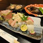 うおすみ - 地魚ランチ(1,800円)