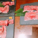 112140798 - 常陸牛 肉寿司 2貫 980円