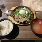 肉バル 東京グリルセンター - タンたま定食850円