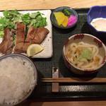 襷 - 鶏のもろみ焼き定食