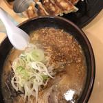 麺や 福丸 - 味噌チップラーメン