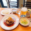 ターボー 80 - 料理写真:チキンソテー1,080円、缶ビール540円
