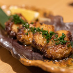 日本酒バル どろん - 牡蠣の発酵バターソテー