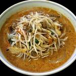 桂山 - モヤシ担々麺(激辛)\800/桂山(南足柄)