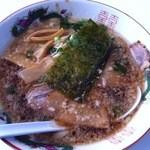 11216348 - 醤油ラーメン(尾道風)