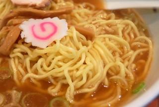 赤坂味一 - 乾いちゃってる部分の麺
