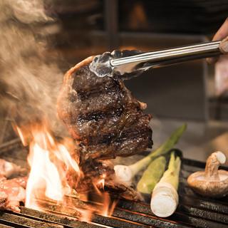 プロの手で味わう炭火焼料理!