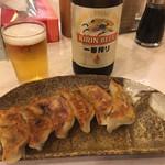 Hananoki@Plus - バカうま野菜餃子380円です