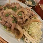 もがめ食堂 - 生姜焼き