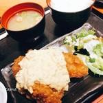 水炊き・焼き鳥 とりいちず - チキン南蛮定食