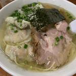 伊達屋 - 「塩雲吞麺」