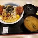 112175835 - 厚切りロースかつ丼¥680
