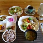 ポモドーロ - ポモドーロランチ  1,050円(コーヒー付き)