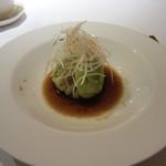中国料理 桃花林 - 鶏肉の蒸しキャベツ