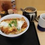 かつや - カツ丼(梅)490円税抜き