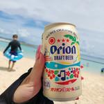 あざまサンサンビーチ - ドリンク写真:オリオンビール♪