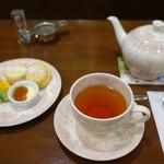 植田ラティス - 料理写真:クリームティーセット