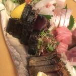 熟成魚と日本酒と藁焼き 中権丸 - 多種多彩