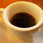 とんかつ ひやま - ホットコーヒー