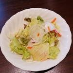 112190388 - ライス&スモールサラダセット 350円+税 の スモールサラダ