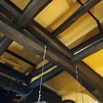 炭火焼きステーキ灰屋 - その他写真:300年前の立派な梁