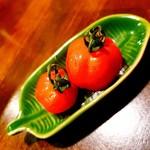 アジアンフード&バー バグース - フルーツトマト (お通し)