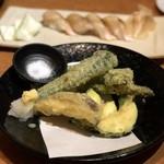 ほたる家 - 天ぷらの盛り合わせ