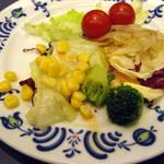 オークラレストラン横浜 ブッフェ&ダイニング サファイア - サラダ