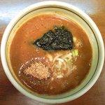 大鷹ラーメン - 濃厚魚介つけ麺(330g) 650円 のつけ汁