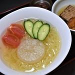 福島屋 - すっぴん冷麺&おでん定食Ⓐ(夏季限定)